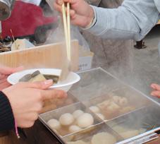 おでん鍋で美味しいおでんを!!