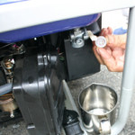 発電機メンテンス時は、細かいゴミも取り除いております
