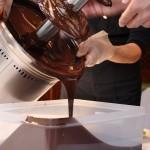 チョコレートファウンテン後は、残ったチョコレートを別容器に移すなどしてくださいね