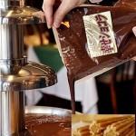 チュロスとチョコレートも最高の組み合わせですね♪