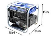 安定した電圧のインバータ発電機が良いでしょう!
