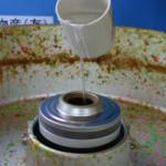 綿菓子機の目詰り対処法